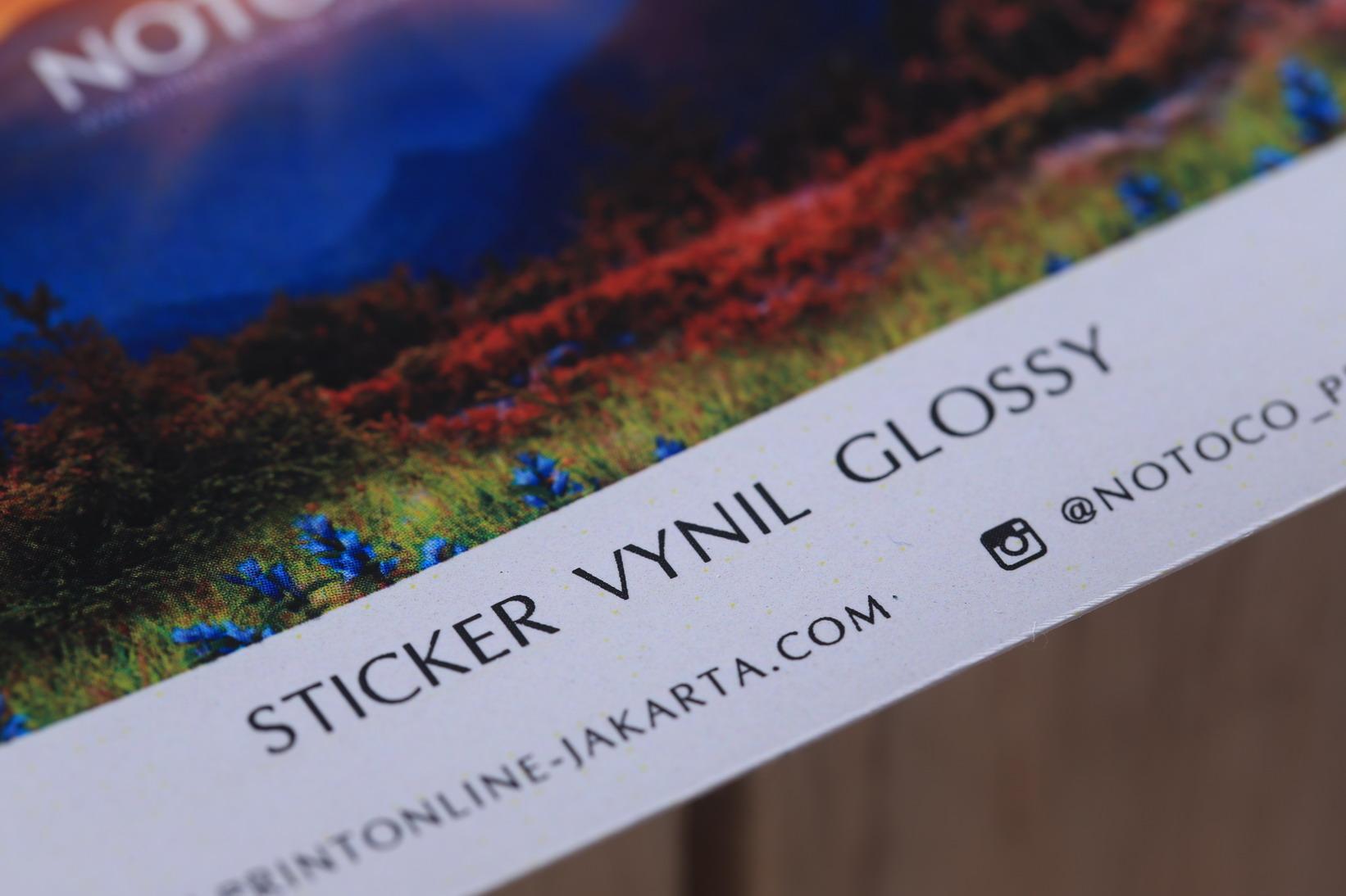 Sticker Vynil Glossy
