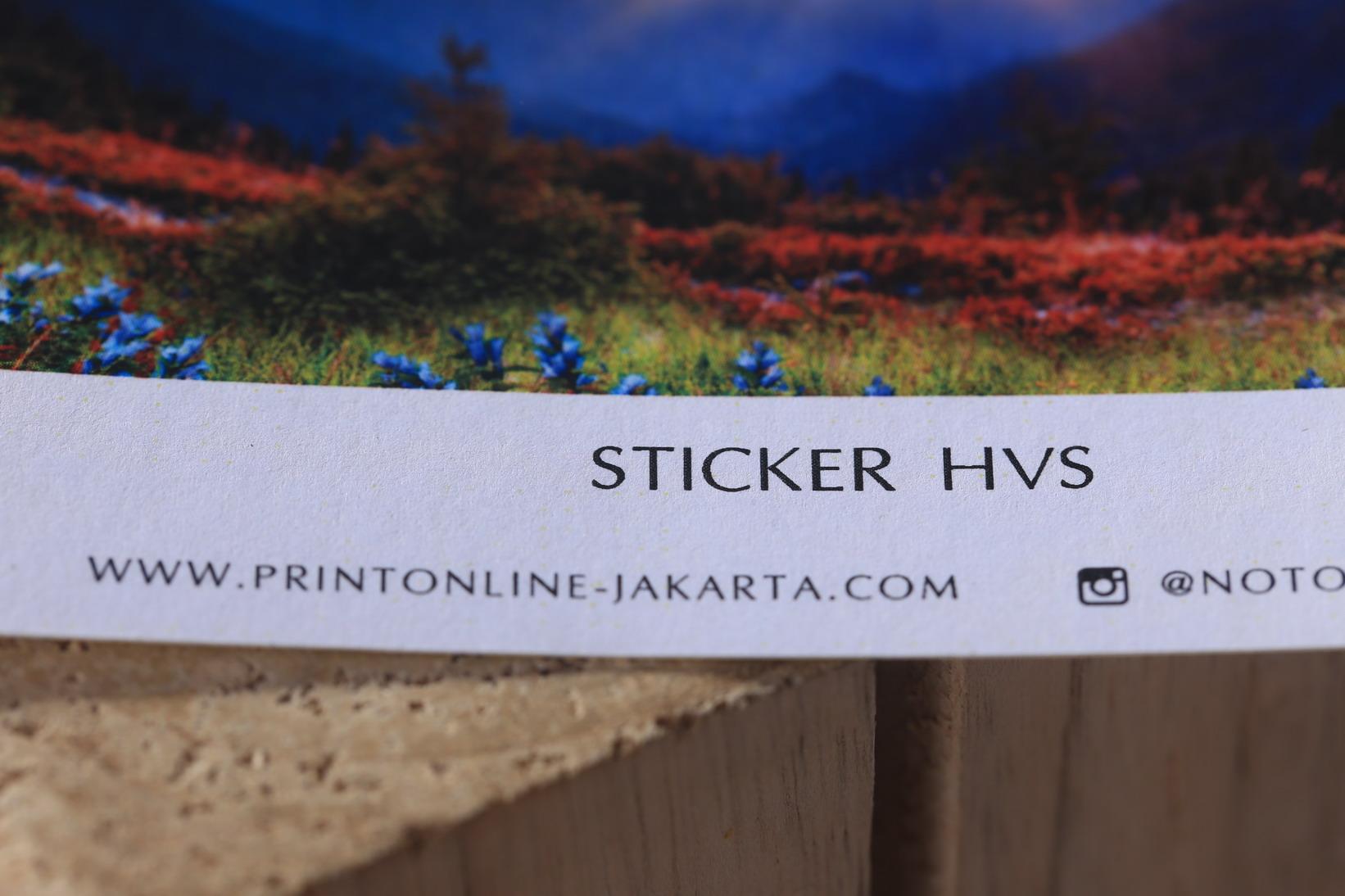 Sticker HVS