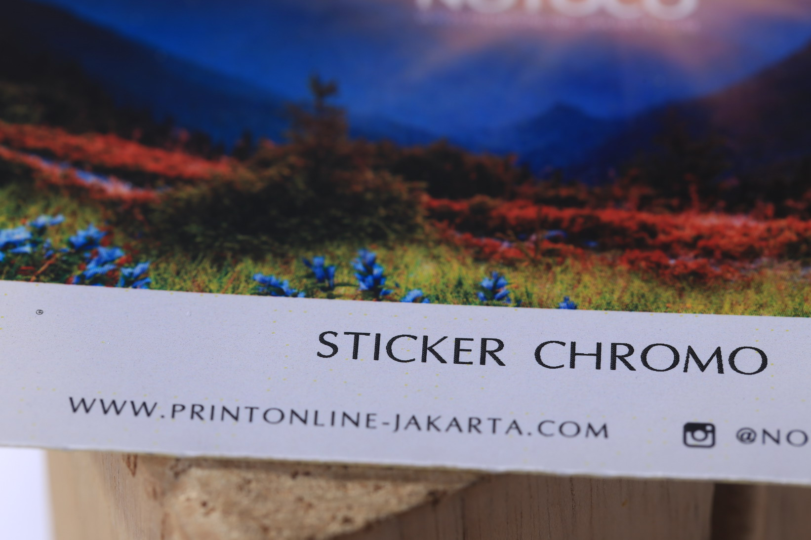 Sticker Chromo
