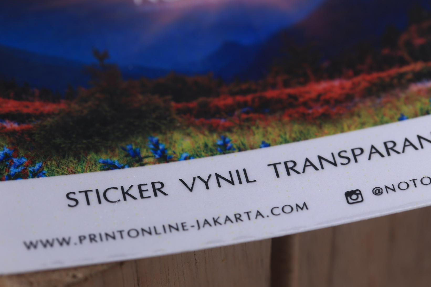 Sticker Vynil Transparant