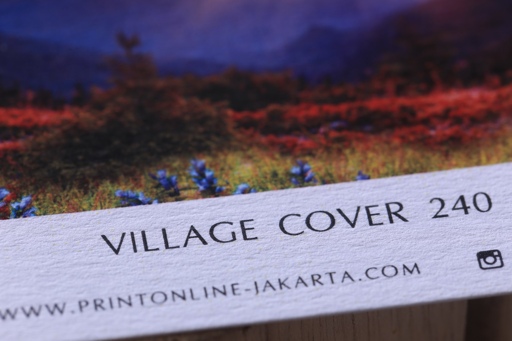 Village Cover 240 grm